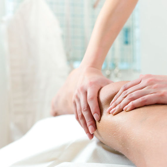 Manuelle Lymphdrainage bei Physiotherapeutin Sabine Apprich